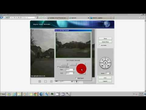 How to Search and save recorded images from your DVR - Houston CCTV