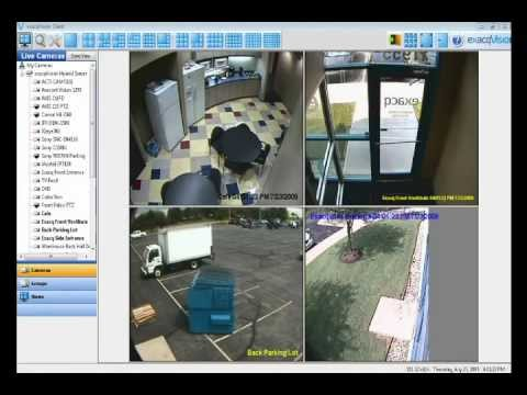 Security Cameras Software - NVR -Tutorial - Create and Modify View an dplayback