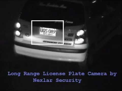 License Plate Cameras - Analog - Long Range and High resolution - Nexlar Security